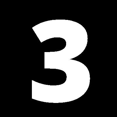 numeric 3 icon