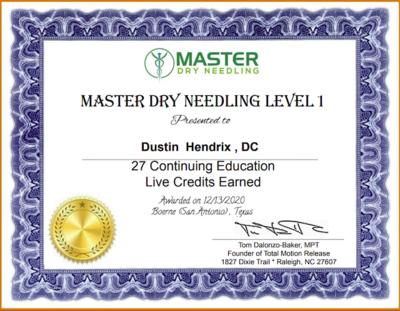 Dry Needling Certification
