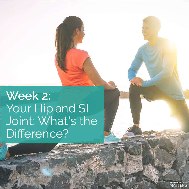 hip, SI joint