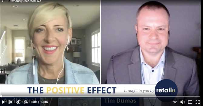 The Positive Effect - With April Sabral & Tim Dumas